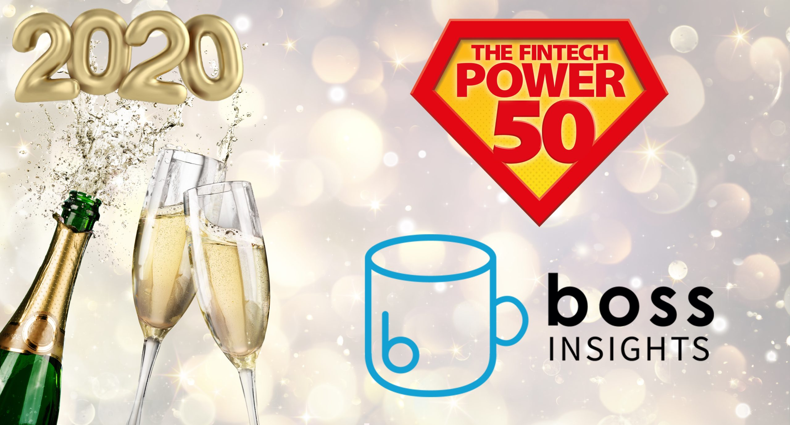 Boss Insights Featured on the Fintech Power 50 Annual Guide