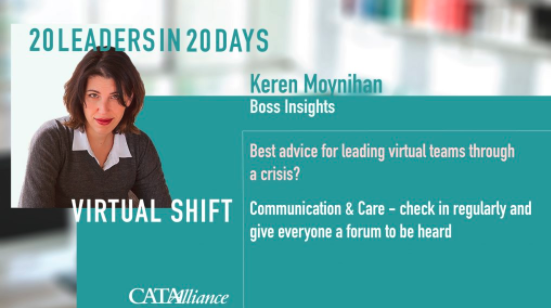 Boss Insights on 20 Leaders In 20 Days Podcast
