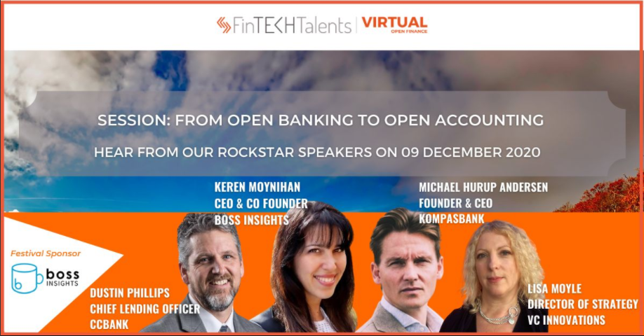 Boss Insights On FinTECHTalents' Virtual Open Finance Panel: From Open Banking To Open Accounting